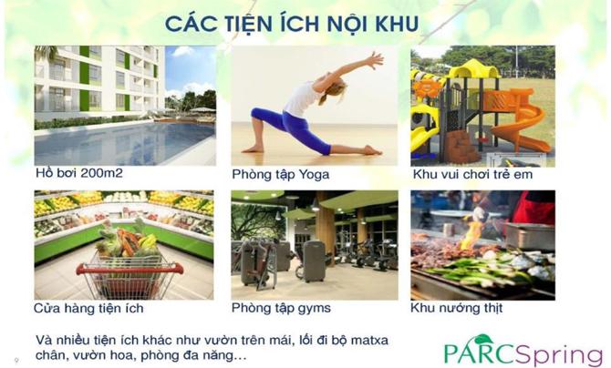 Dự án căn hộ ParcSpring