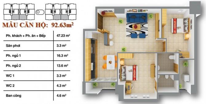 căn hộ 12 view